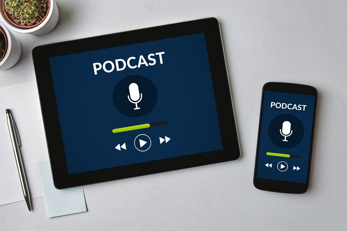 Podcast en móvil y tablet